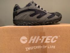 NEW & BOXED HI-TEC TRAINERS SIZE INFANT 13 (260 UPSTAIRS)