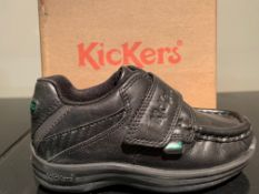 NEW & BOXED KICKERS SHOES SIZE INFANT 8 (274 UPSTAIRS)