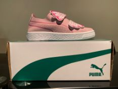 NEW & BOXED PUMA TRAINERS SIZE INFANT 11 (46 UPSTAIRS)