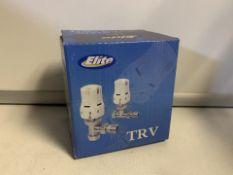 2 X NEW BOXED SETS OF ELITE TRV THERMOSTATIC RADIATOR VALVES (410/28)
