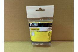 144 X BRAND NEW PACKS OF 4 DIALL 25 X 50MM INSULATION PLUGS IN 8 BOXES (316/4)