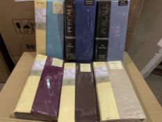 48 X VARIOUS BRAND NEW RESTMOR LUXURY PLATFORM VALANCE IN VARIOUS STYLES AND SIZES (343/4)