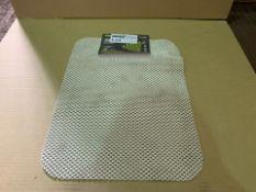 20 X BRAND NEW ISAGI STAY PUT ANTI-SLIP FABRICS PLACEMATS (271/4