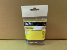 144 X BRAND NEW PACKS OF 4 DIALL 25 X 50MM INSULATION PLUGS IN 8 BOXES (314/4)