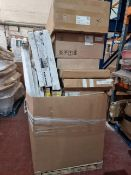 (M51) PALLET TO CONTAIN A LARGE QTY OF VARIOUS ITEMS TO INCLUDE: XCITE KITCHEN SINK, ACOVA COLUMN