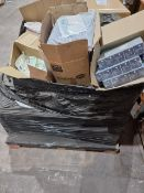 (M10) PALLET TO CONTAIN A LARGE QTY OF VARIOUS ITEMS TO INCLUDE OAK UNIVERSAL SLINGS, BLUE