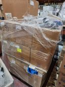 (M22) PALLET TO CONTAIN APPROX. 2,500 x BAGUETTE TRAYS & 4,000 x TRIFLE DISHES. ORIGINAL PALLET