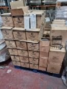 (M16) PALLET TO CONTAIN A LARGE QTY OF VARIOUS ITEMS TO INCLUDE METAL JEWELLERY STAND, TABLE NUMBERS