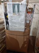(M54) PALLET TO CONTAIN A LARGE QTY OF VARIOUS ITEMS TO INCLUDE: FRANKE KITCHEN TAP, ALILITE ARC