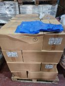 (M17) PALLET TO CONTAIN 5,400 x BLUE TINT FOOD GRADE BAGS. SIZE 215x340x450MM