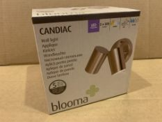 10 X BRAND NEW BLOOMA CANDIAC LED WALL LIGHTS