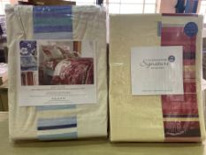 12 X BRAND NEW COAST TO COAST SINGLE FITTED SHEETS VARIOUS COLOURS