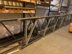 RACKING LOT TO INCLUDE 6 X LINK 51 UPRIGHTS SIZE APPROX. 4.8M(H) X 1.1M(D) & 60 LINK 51 BEAMS 2.9M(