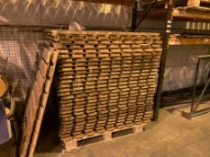 100 X ASSORTED PALLET RACKING BOARDS ON 8 PALLETS