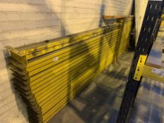 CIRCA 45 X LINK 51 2.9M LONG PALLET RACKING BEAMS (BACK WALL - LARGE MEZZ WAREHOUSE)