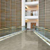 NEW 17.28M2 Square Meters of Veinstone Lapatto Brown Polished Wall and Floor Tiles. 300x600mm, 1.