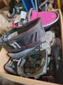 (N7) PALLET OF VARIOUS ITEMS TO INCLUDE SILVER CROSS CARRY COT, CASATTO CARRY COT ETC