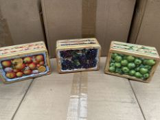 1 x Pallet containing THE SILVER CRANE CO tins - Small assorted Fruit create 21 x 24