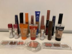 100 X BRAND NEW ASSORTED MAX FACTOR AND RIMMEL SEALED TESTERS INCLUDING 5.5MLLIQUID LIP COLOUR, 15ML