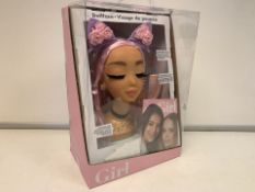 6 X NEW PACKAGED WHO'S THAT GIRL DOLL FACE DOLL PLAY SETS (431/8)