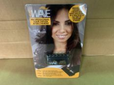 72 x NEW PACKAGED HEAT WAVE PROFESSIONAL HAIR DRYER ATTACHMENTS (152/8)