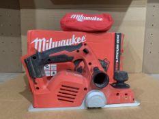 Milwaukee M18 BP-0 18V Li-Ion Cordless Planer - Bare. BOXED. UNCHECKED