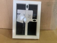 108 X BRAND NEW 12.7 X 17.8CM FRONT LOADING WALL OR TABLETOP PHOTO FRAMES (72/8)