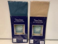 80 X BRAND NEW PAIRS OF DIANE COUPE SEAT PROTECTORS (1098/8)