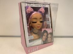 6 X NEW PACKAGED WHO'S THAT GIRL DOLL FACE DOLL PLAY SETS (435/8)