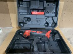MILWAUKEE M18 MULTI TOOL WITH CARRY CASE. UNCHECKED