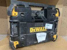 DEWALT DWST1 GB TSTAK BLUETOOTH RADIO. UNCHECKED