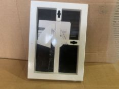 108 X BRAND NEW 12.7 X 17.8CM FRONT LOADING WALL OR TABLETOP PHOTO FRAMES (74/8)
