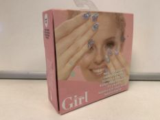 24 X NEW PACKAGED WHO'S THAT GIRL NAIL POLISH DIP GIFT SETS (440/8)