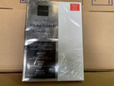 20 X BRAND NEW NORWOOD READY MADE BLACKOUT LININGS IN VARIOUS STYLES AND SIZES (516/8)