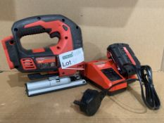 Milwaukee M18 BJS-0 18V Li-Ion Cordless Jigsaw. COMES WITH BATTERY & CHARGER