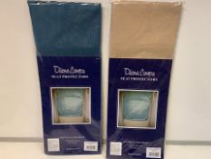 80 X BRAND NEW PAIRS OF DIANE COUPE SEAT PROTECTORS (1099/8)