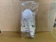 22 X BRAND NEW TESCO SHOWER HEADS (84/8)