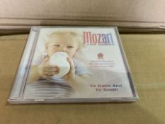 400 X BRAND NEW MOZART FOR CHILDREN TO CALM AND SMOOTH DVD IN 4 BOXES (524/8)
