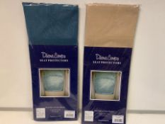 80 X BRAND NEW PAIRS OF DIANE COUPE SEAT PROTECTORS (1096/8)