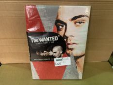 12 X NEW PACKAGED THE WANTED SINGLE DUVET SETS (170/8)