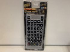 20 X NEW PACKAGED ENZO JUMBO UNIVERSAL REMOTE CONTROLS (217/8)