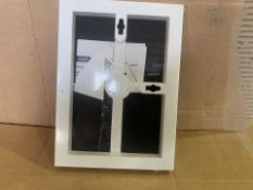 108 X BRAND NEW 12.7 X 17.8CM FRONT LOADING WALL OR TABLETOP PHOTO FRAMES (73/8)