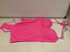 24 X BRAND NEW LEPEL PINK SWIMSUITS SIZES 10/12/14 (334/8)