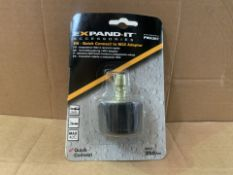 100 X BRAND NEW EXPAND IT PWA307 QUICK CONNECT TO M22 PRESSURE WASHER ADAPTOR MAX 250 BAR (37/8)