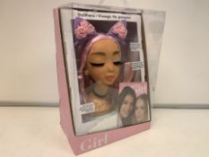 6 X NEW PACKAGED WHO'S THAT GIRL DOLL FACE DOLL PLAY SETS (432/8)