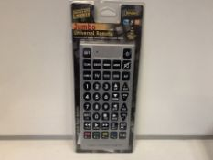 20 X NEW PACKAGED ENZO JUMBO UNIVERSAL REMOTE CONTROLS (216/8)