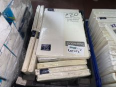 20 X BRAND NEW NORWOOD READY MADE BLACKOUT LININGS (563/8)