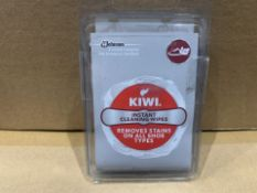 360 X NEW PACKS OF 4 KIWI INSTANT CLEANING WIPES - REMOVES STAINS ON ALL SHOE TYPES (143/8)