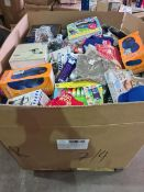 (Y5) PALLET TO CONTAIN A LARGE QTY OF VARIOUS ITEMS TO INCLUDE MEKAMON ROBOT, PLAY DOH DOH VINCHI