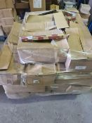 (Y2) PALLET TO CONTAIN APPROX. 600 X ROLLS OF 12M STARS GIFT WRAP. RRP £3.50 PER ROLL